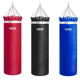 Боксерский мешок Sportko высота 150 ф50 80кг c цепями арт.МП-15050