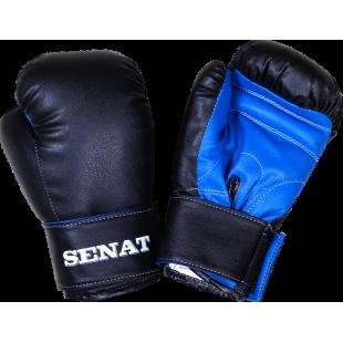 Перчатки боксерские детские 6 унций, чёрно-синие, 1543-blk/bl