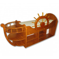 """Одноярусная кровать """"Кораблик"""""""