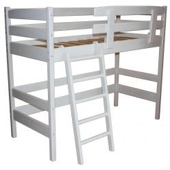 """Кровать-чердак """"Снови"""" Белая"""