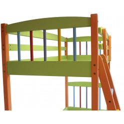 Двухъярусная кровать-трансформер РАДУГА