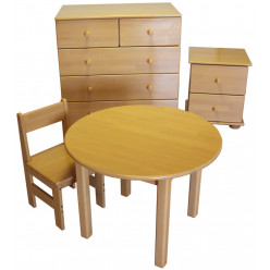 Детский столик круглый