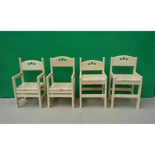 Растущий стульчик Ирель из сосны