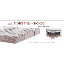 Ортопедический матрас Матрац MONTANA BONNEL + КОКОС