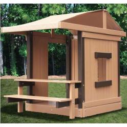 Домик- навес cо столиком и лавочкой