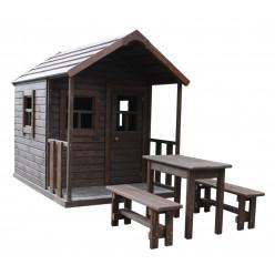 Домик для детей с верандой