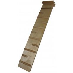 Доска комбинированная ребристая для пресса и спины 152 см