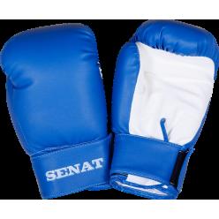 Перчатки боксерские детские 6 унций, сине-белые, 1543-bl/wht