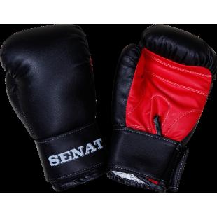 Перчатки боксерские 8 унций, черно-красные, 1550-blk/red