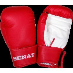Перчатки боксерские детские 6 унций, красно-белые, 1543-red/wht
