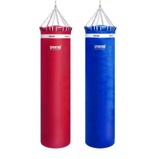 Боксерский мешок Sportko высота 180 ф60 120кг c цепями арт.МП-18060Б