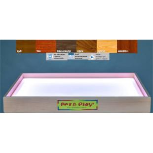 Развивающая световая песочница ЯСЕНЬ/700×500