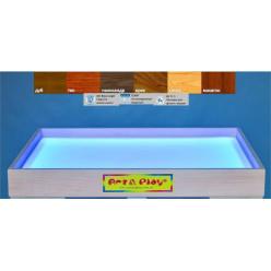 Мобильная светодиодная песочница - планшет МИНИ 16 цветов,  ОЛЬХА /500×330