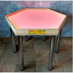 Стол шестиугольный  для песочной анимации и терапии Art&Play
