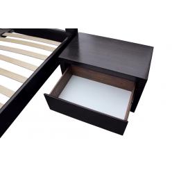 Двуспальная кровать из ясеня Амели