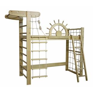 Кровать-чердак  Пират Лак