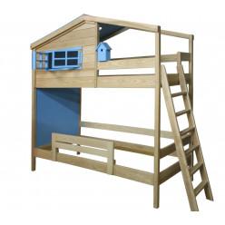 Двухъярусная кровать Домик Звездочета