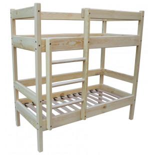 Двухъярусная кровать 140х60см для детского садика