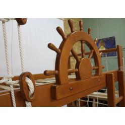 """Двухъярусная кровать-спортивный уголок """"Пират"""" Тон"""