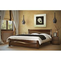 Двуспальная кровать из ясеня Марта
