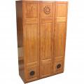 Шкаф Флинт из натурального дерева