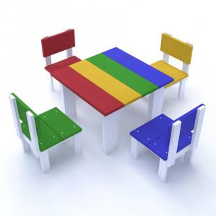 Детский столик и стульчик Веселинка