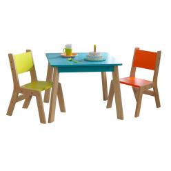 Детский набор столик и стульчики Акварель