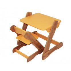 Детский комплект: растущий столик и растущий стульчик. Оранж