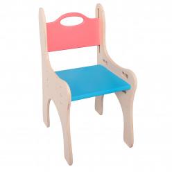 Детская парта-мольберт с пеналом + растущий стульчик Ирель Цвет