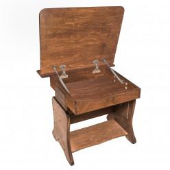 Детская парта-мольберт с пеналом + растущий стульчик Ирель Тон