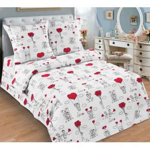 Детское постельное белье  Любовь-морковь, поплин