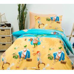 Детское постельное белье Остров сокровищ, поплин
