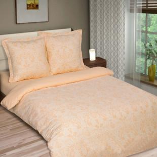 Комплект постельного белья из поплина Грация Персик