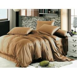 Комплект постельного белья из однотонного сатина CARAMEL, №181