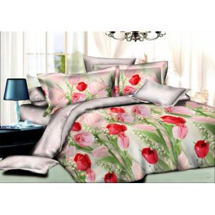 Комплект постельного белья из ранфорс Романс