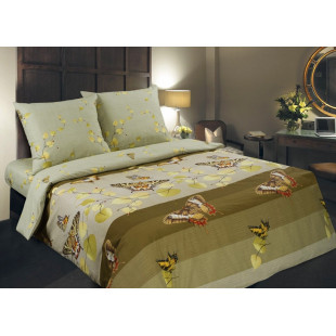 Комплект постельного белья из поплина Вальс